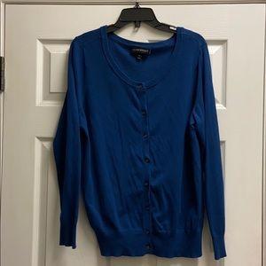 Dark blue Lane Bryant cardigan 14/16